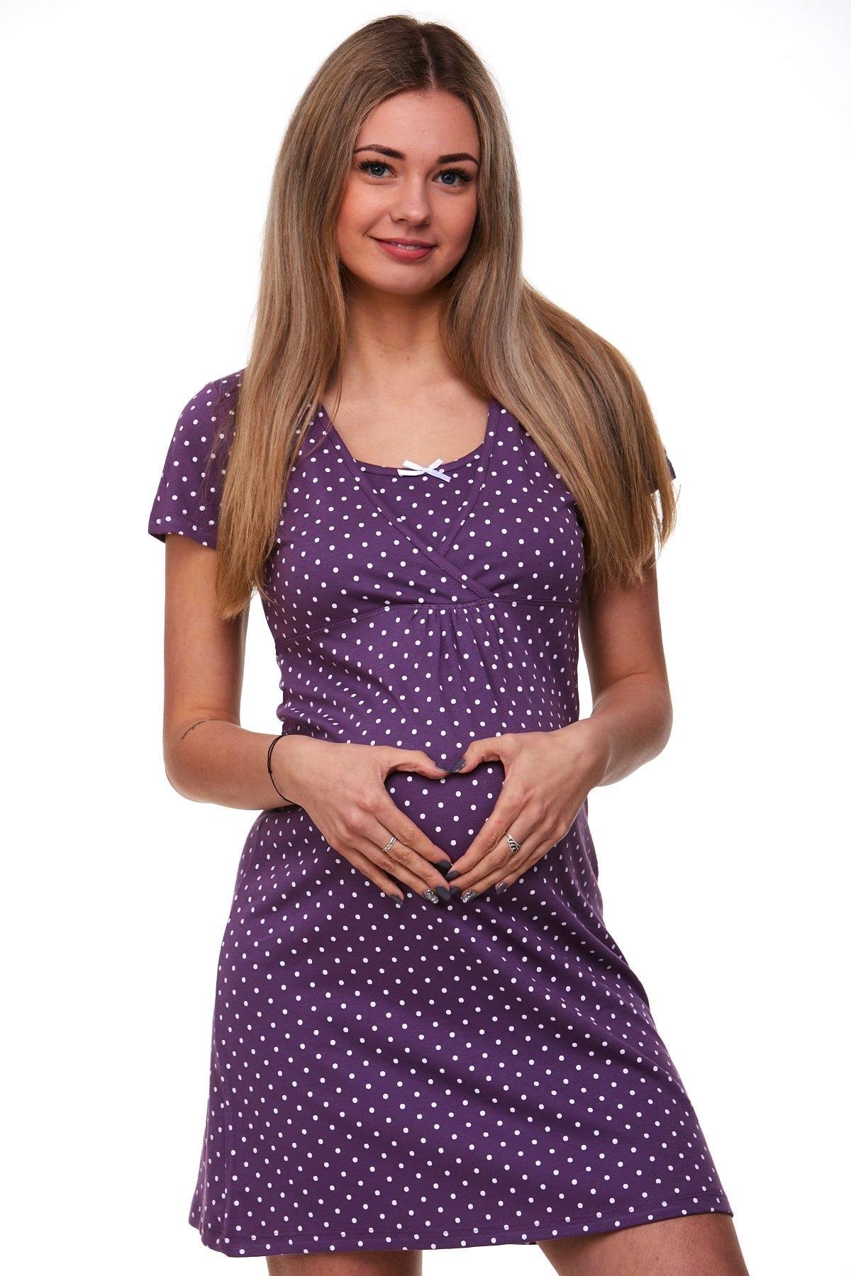Kojící i těhotenská košilka 1C1298