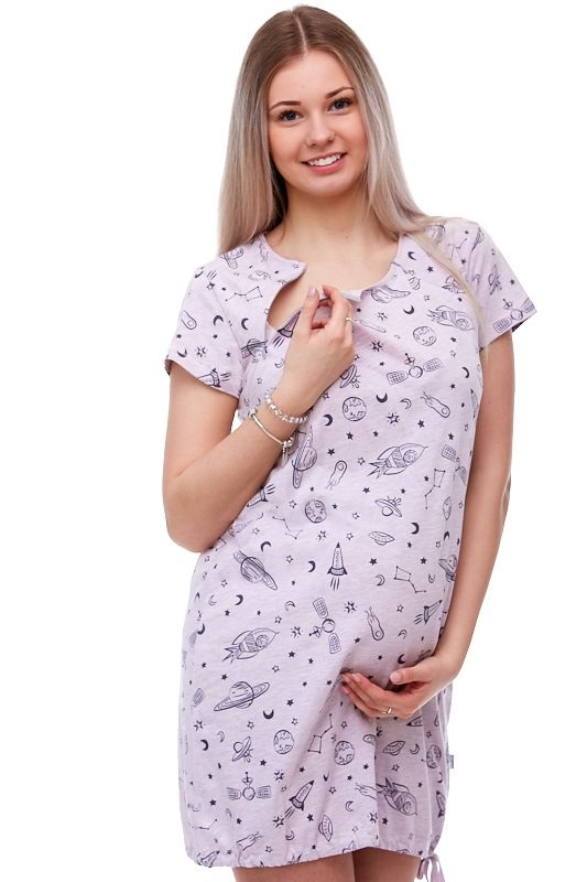 Těhotenská a kojící košile 1C1307