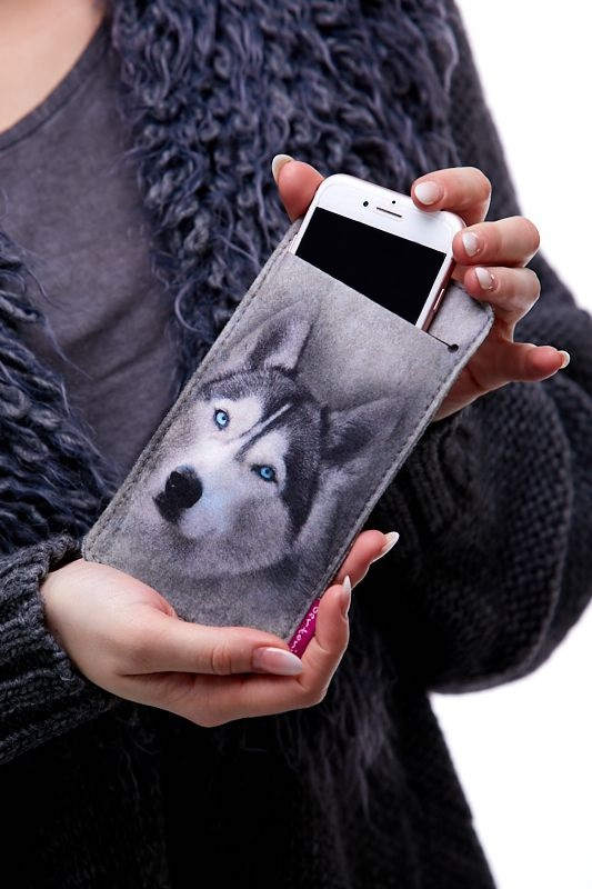 Pouzdro na mobil Husky 1Q0050