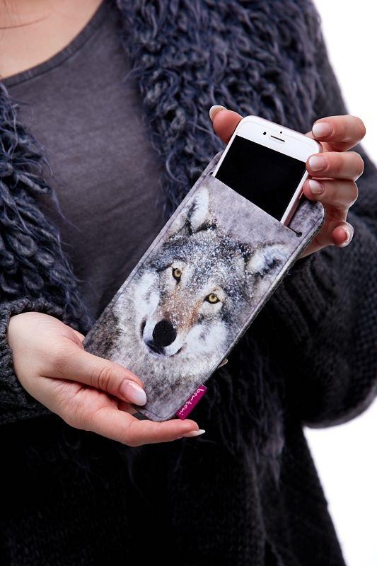 Pouzdro na mobil Vlk 1Q0049