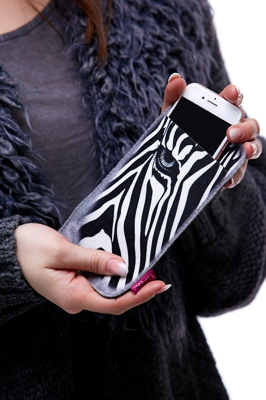 Pouzdro na mobil - Zebra 1Q0047