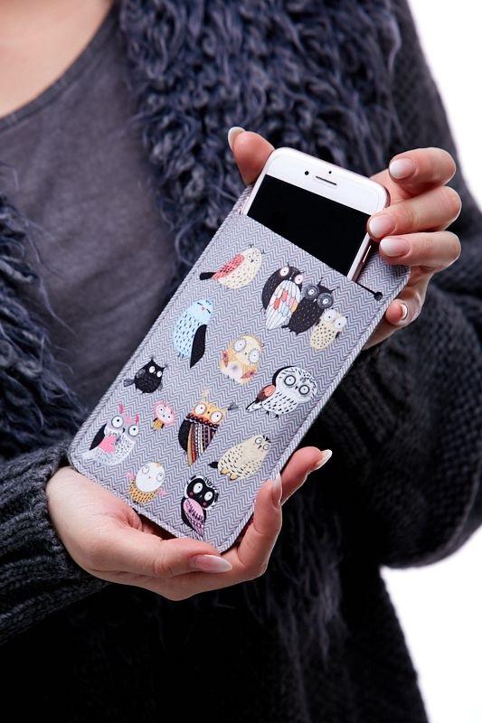 Pouzdro na mobil Ptáci 1Q0045