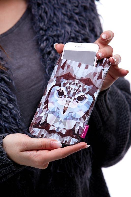 Pouzdro na mobil Sova creativ 1Q0044