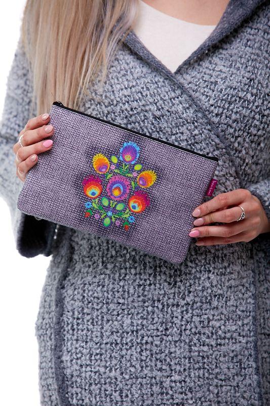 Kosmetická taštička - Květinová mandala 1Q0085
