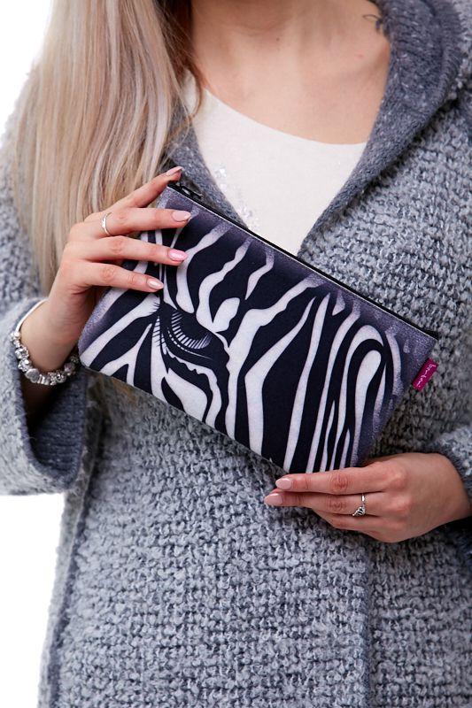 Kosmetická taštička - Zebra 1Q0084