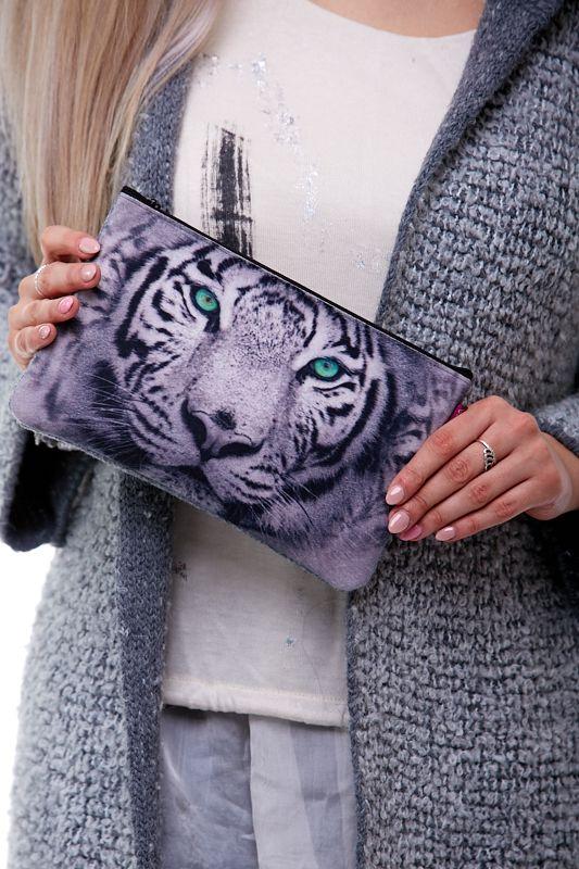 Kosmetická taštička - Bílý tygr 1Q0079