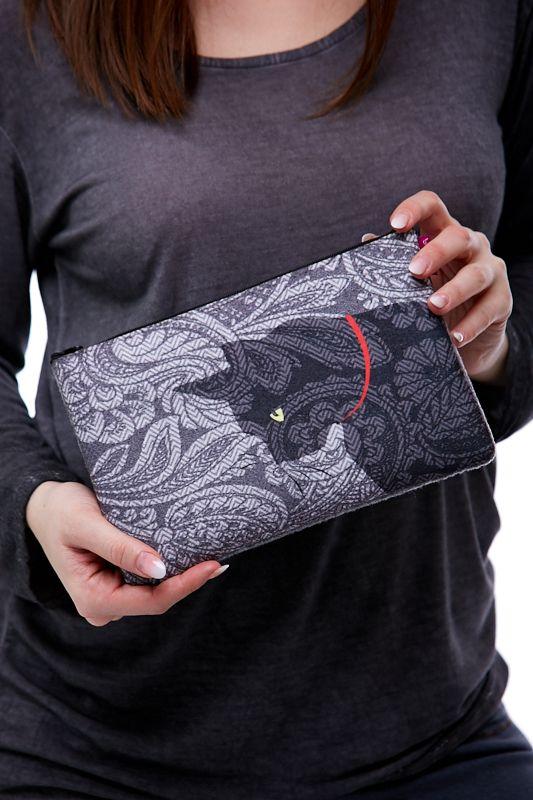 Kosmetická taštička - Kočičí mandala 1Q0075