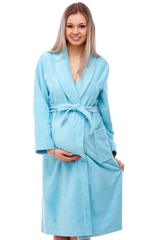 Těhotenský župan do porodnice 1W0090