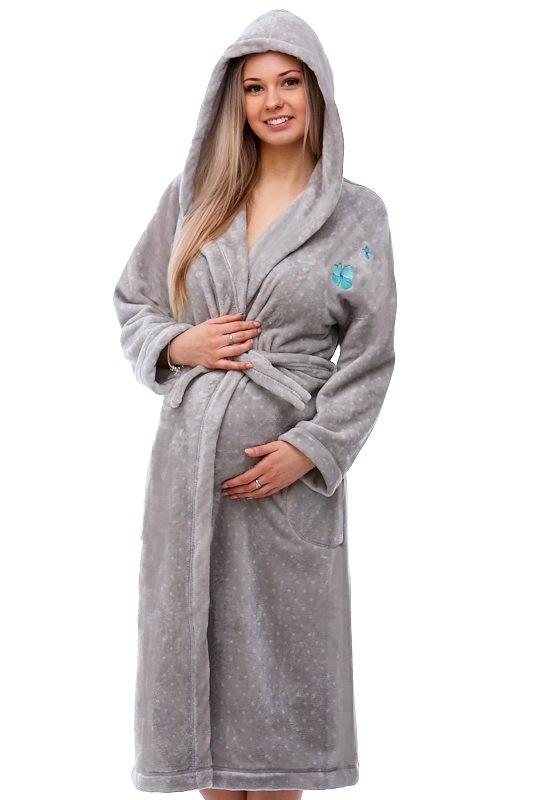 Těhotenský župan do porodnice 1W0096