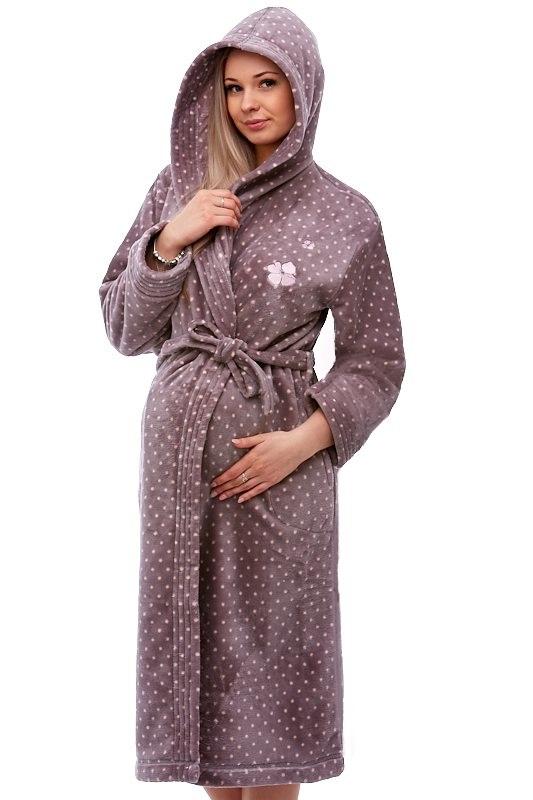 Těhotenský župan do porodnice 1W0095