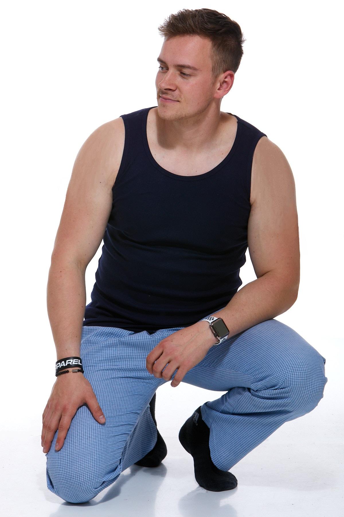 Tílko + Pyžamové kalhoty 1P0658