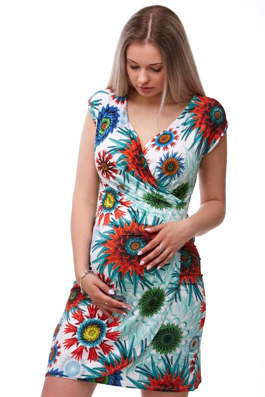 Šaty těhotenské a kojící 1S1277