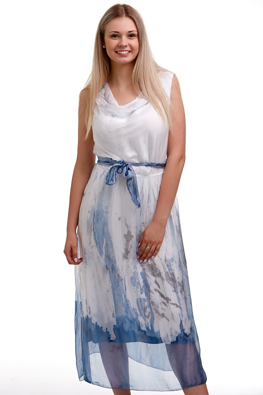 Šaty hedvábné Italy 1A0584