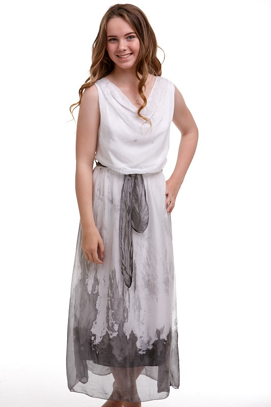 Šaty hedvábné Italy 1A0583