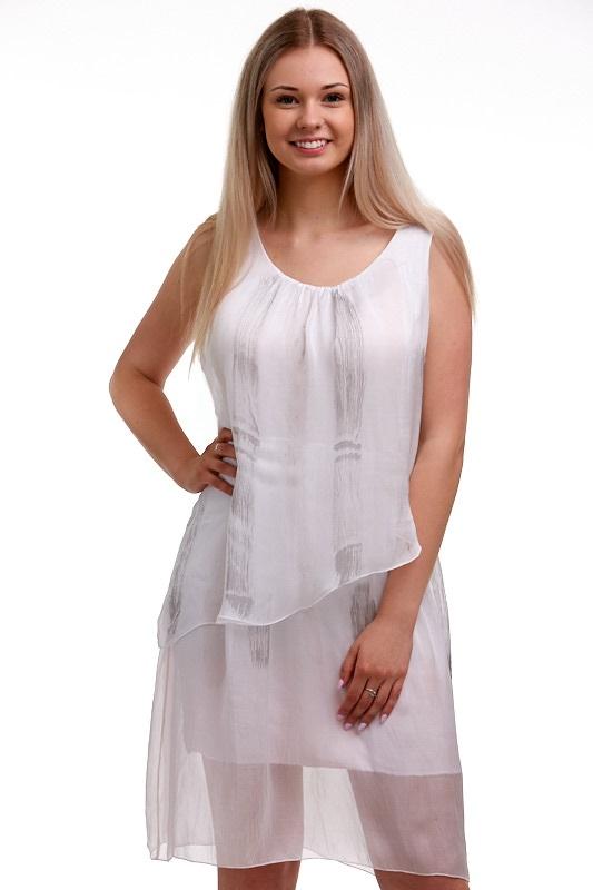 Šaty hedvábné Italy 1A0602