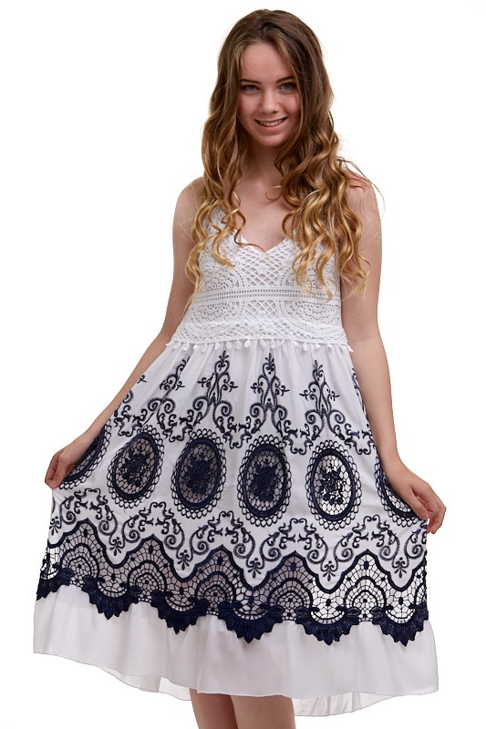 Letní šaty dámské 1A0603