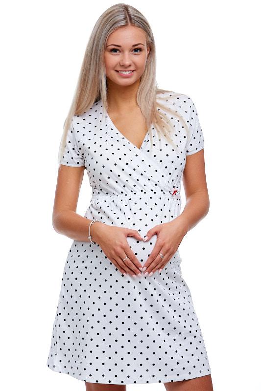 Těhotenská a kojící košilka 1C1454