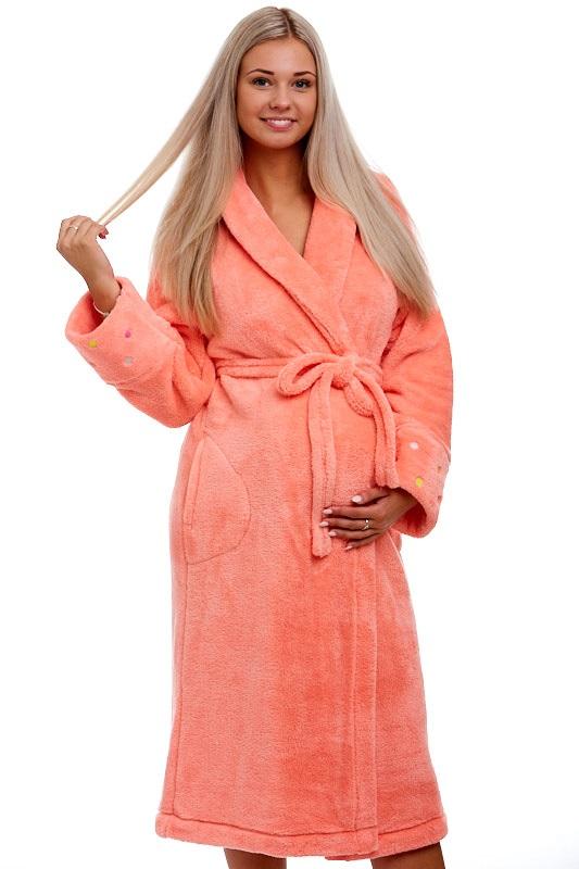 Těhotenský župan huňatý
