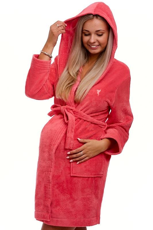 Těhotenský župan do porodnice 1W0105