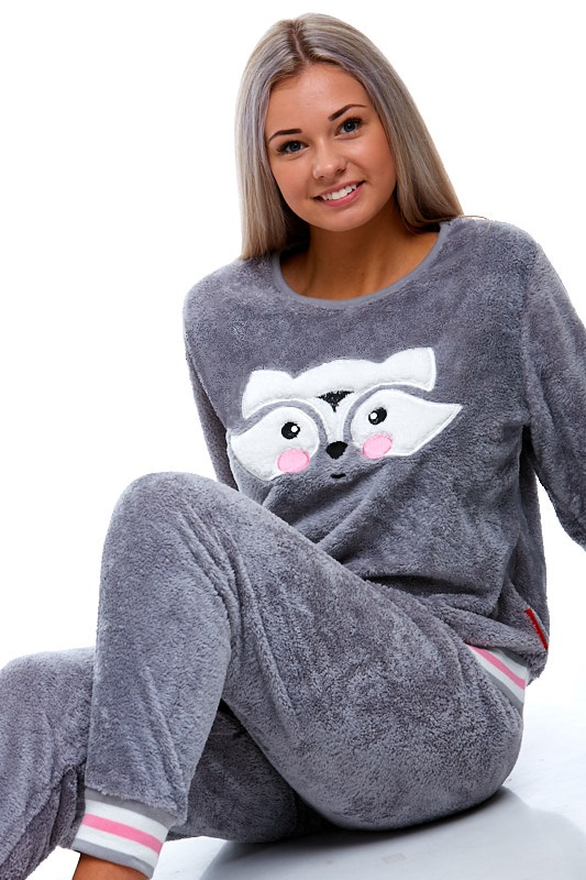 Pyžamo extra teplé pro ženy 1Z0843