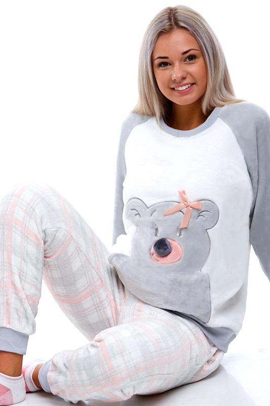 Pyžamo extra teplé pro ženy 1Z0841