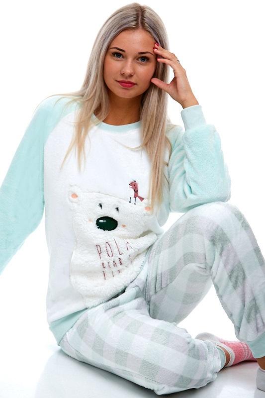 Pyžamo extra teplé pro ženy 1Z0839