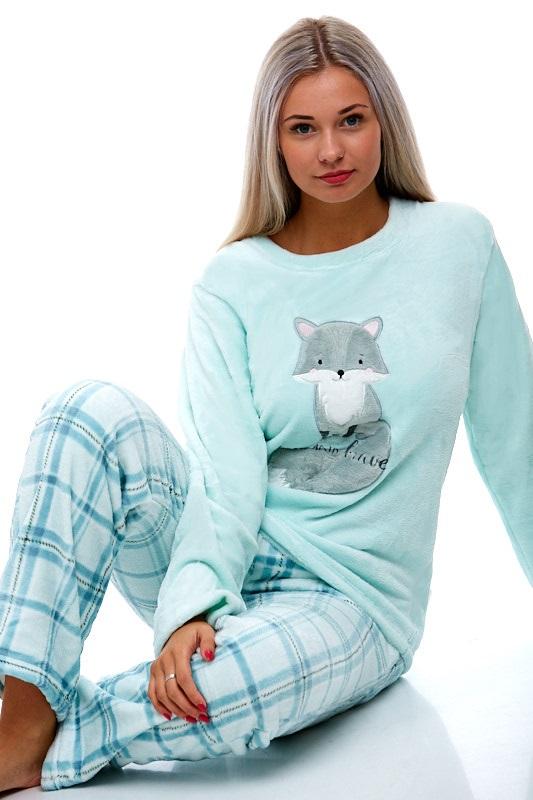 Pyžamo extra teplé pro ženy 1Z0836