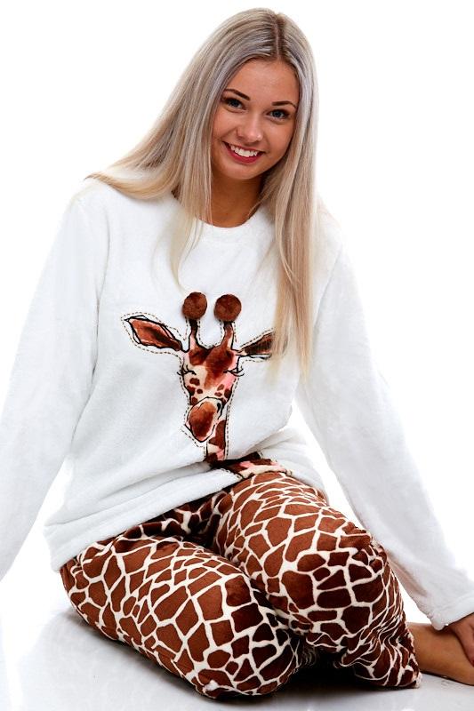 Pyžamo extra teplé pro ženy 1Z0834