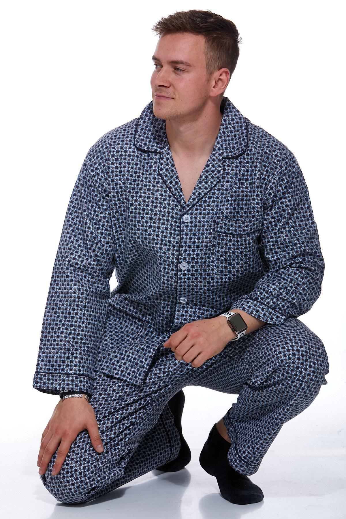 Pánské pyžamo flanel 1P0675