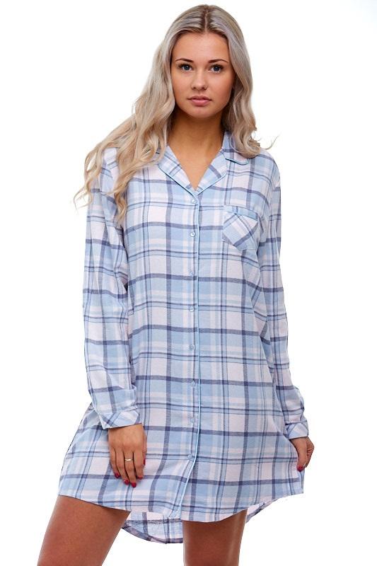 Noční košile z flanelu