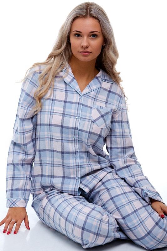 Pyžamo pro ženu z flanelu 1B0681