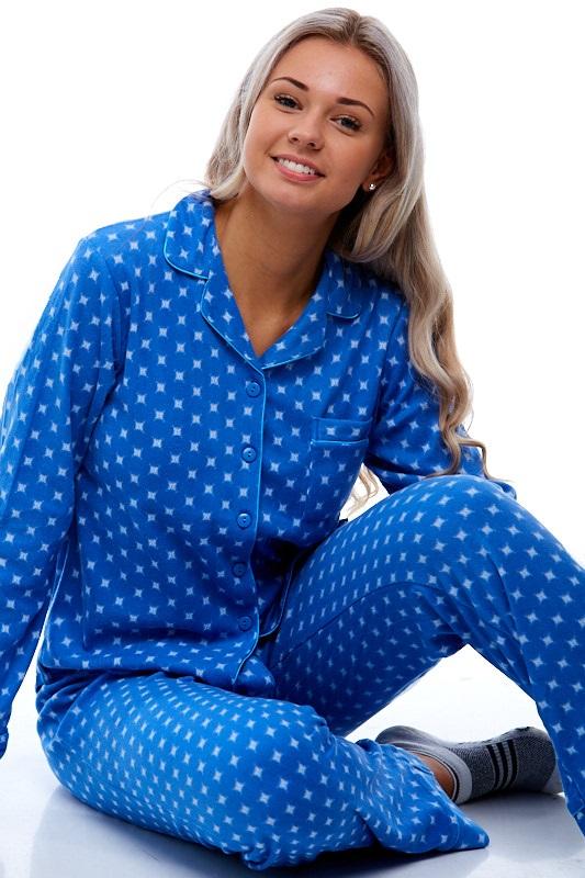 Pyžamo pro ženu z flanelu 1B0679
