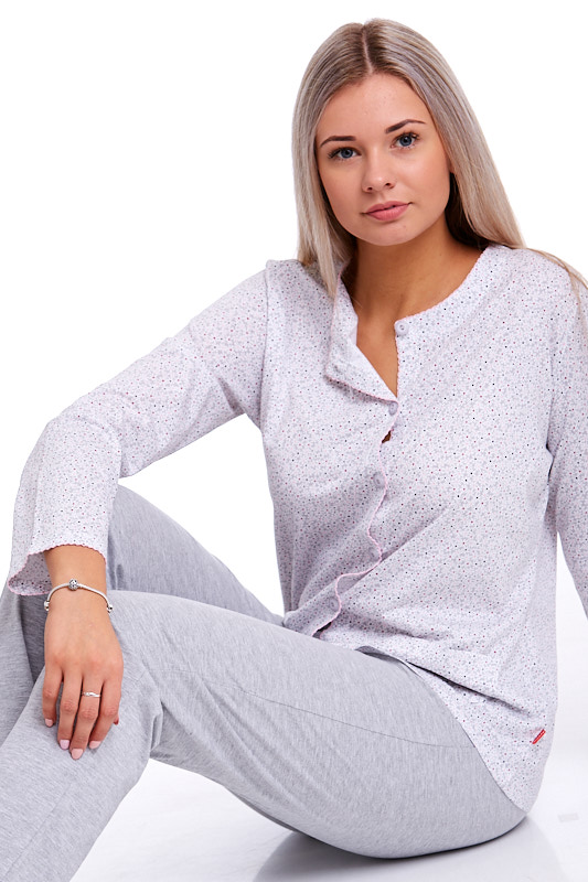 Pyžamo propínací dámské 1B0688