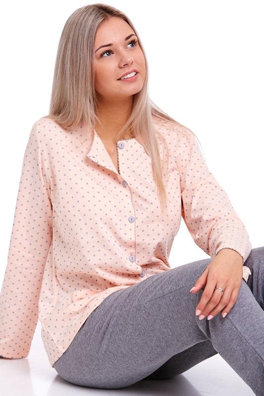 Pyžamo propínací dámské 1B0687