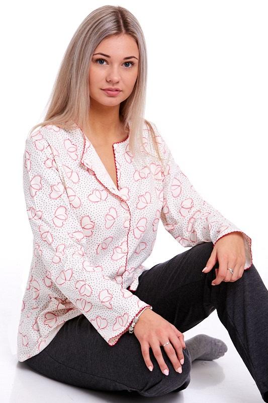Pyžamo propínací dámské 1B0685