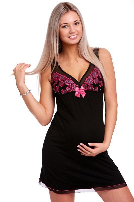 Těhotenská a kojící košilka luxusní 1E8200