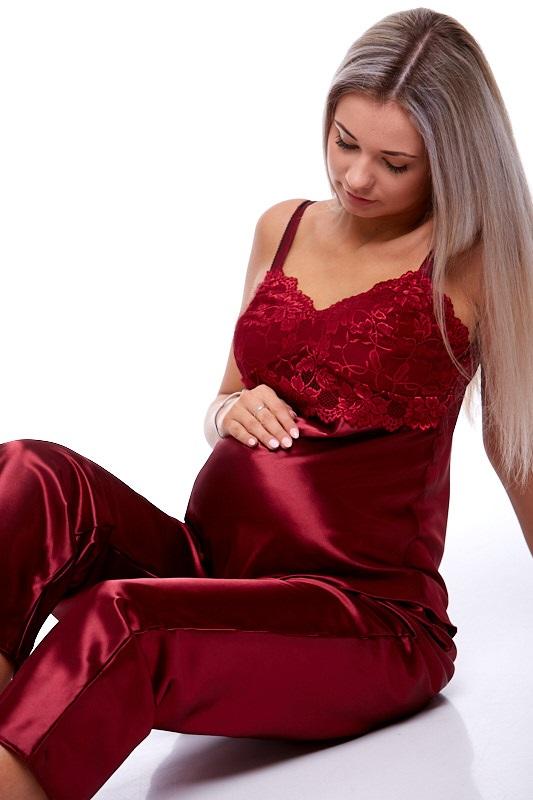 Mateřské pyžamo na kojení 1E8206