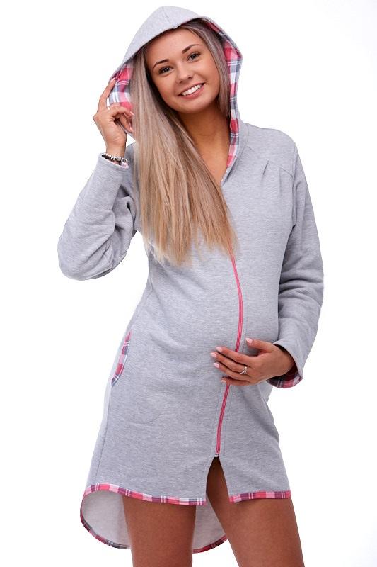 Těhotenský župan na kojení 1W0160