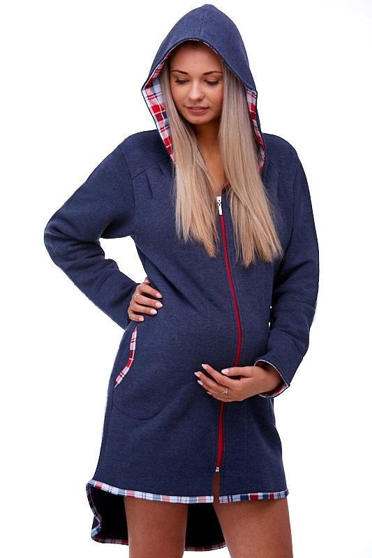 Těhotenský župan na kojení 1W0159