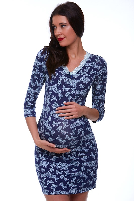 Těhotenská košilka noční 1D0639