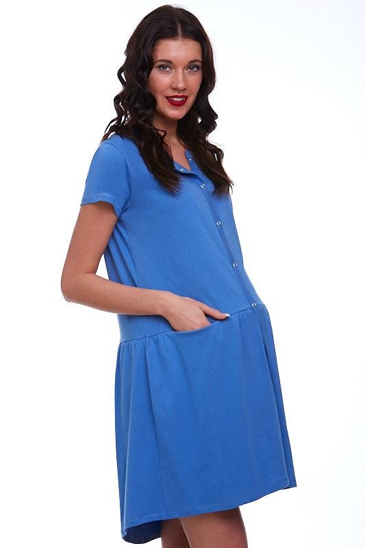 Kojící a těhotenská košilka celo propínací 1C1488