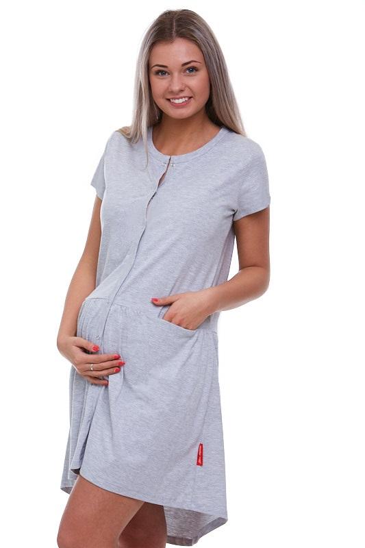 Kojící a těhotenská košilka celo propínací 1C1486