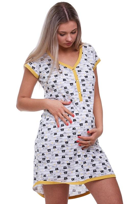 Kojící a těhotenská košilka  1C1501