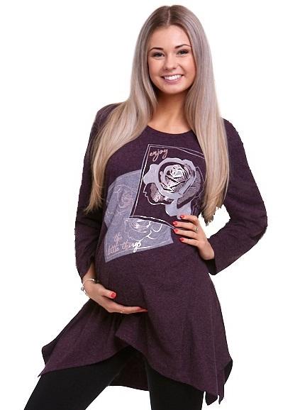 těhotenská tunika hřejivá