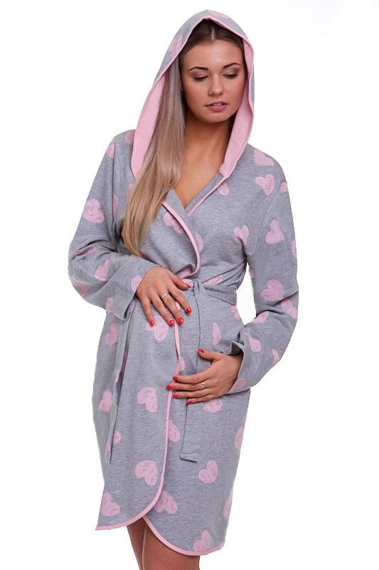 Těhotenský župan na kojení 1G0156