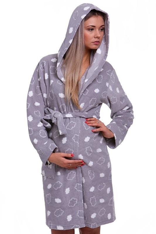 Těhotenský župan na kojení 1G0159