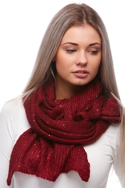 Šátek, šála pletená 1J0299