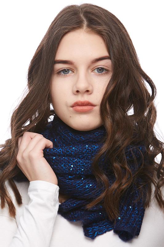Šátek, šála pletená 1J0298