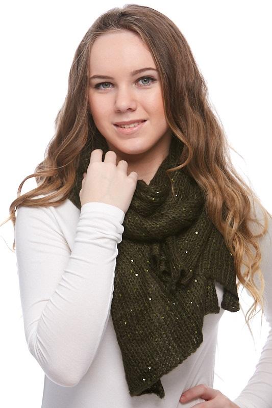 Šátek, šála pletená 1J0297