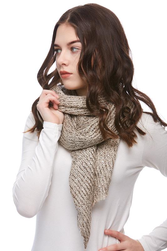 Šátek, šála pletená 1J0296